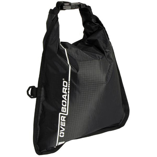 OverBoard Waterproof Dry Flat Bag (5 L, Black)