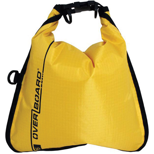 OverBoard Waterproof Dry Flat Bag (5 L, Yellow)