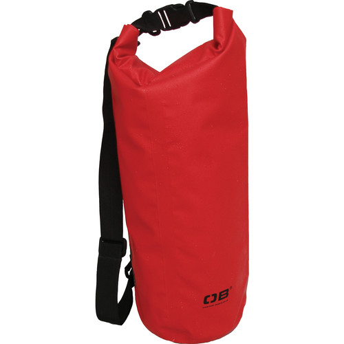 OverBoard Waterproof Dry Tube Bag, 12 Liter (Red)