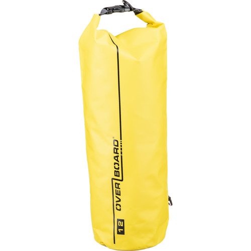 OverBoard Waterproof Dry Tube Bag, 12 Liter (Yellow)