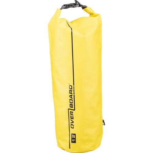 OverBoard Waterproof Dry Tube Bag, 12 Liter (Yellow)
