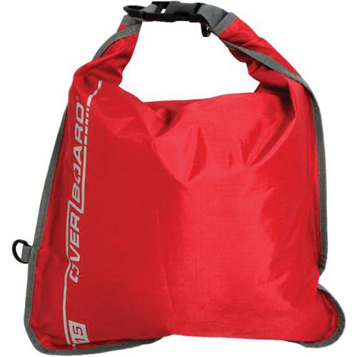 OverBoard Waterproof Dry Flat Bag (15 L, Red)