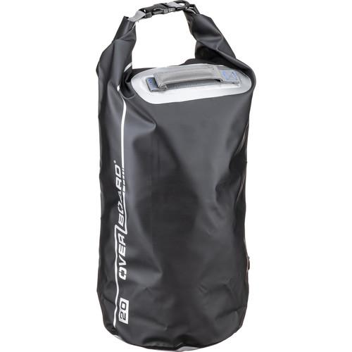 OverBoard Waterproof Dry Tube Bag (20L, Black)