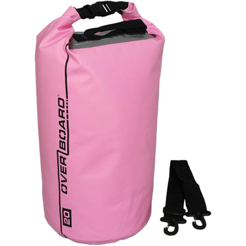 OverBoard Waterproof Dry Tube Bag (20L, Pink)