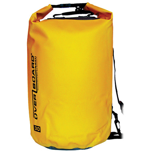 OverBoard Waterproof Dry Tube Bag, 30 Liter (Yellow)