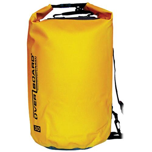 OverBoard Waterproof Dry Tube Bag, 30 Liter (Yellow)