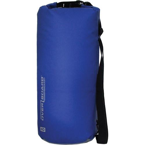 OverBoard Waterproof Dry Tube Bag (Blue, 40L)