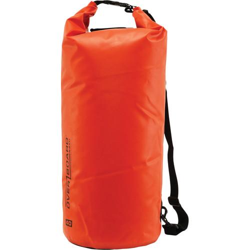OverBoard Waterproof Dry Tube Bag (Red, 40L)