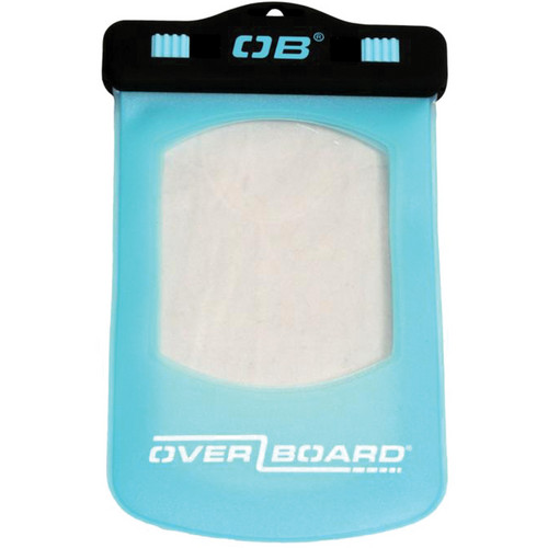 OverBoard Waterproof Phone/GPS Case (Small, Aqua)