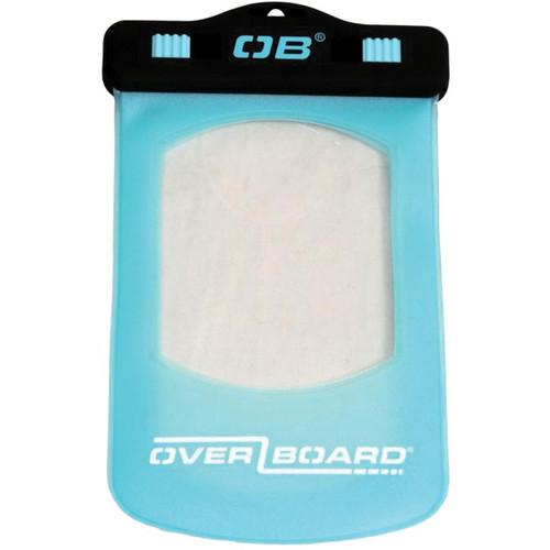 OverBoard Waterproof Phone/GPS Case (Small, Aqua)