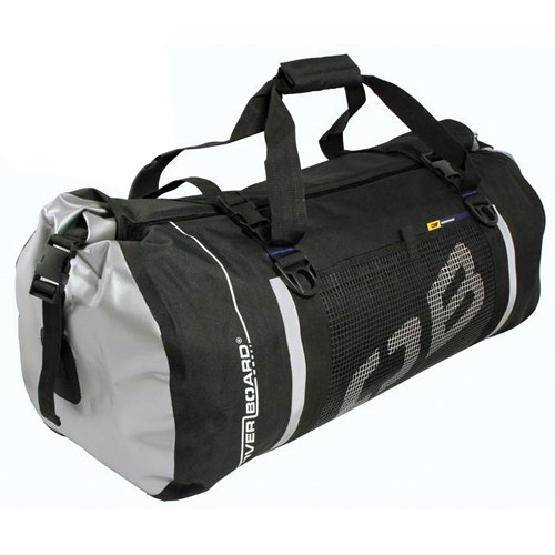 OverBoard Water-Resistant Medium Sport Bag, 60 Liter (Black)