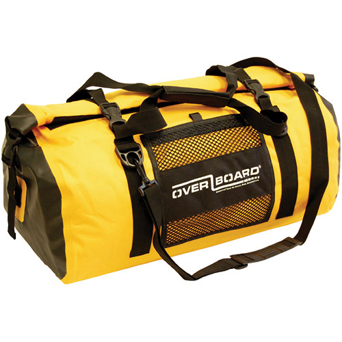 OverBoard Water-Resistant Medium Sport Bag, 60 Liter (Yellow)