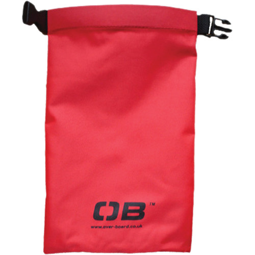 OverBoard Waterproof Dry Pouch, 1 Liter (Red)