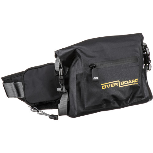 OverBoard Waterproof Waist Pack (Black)
