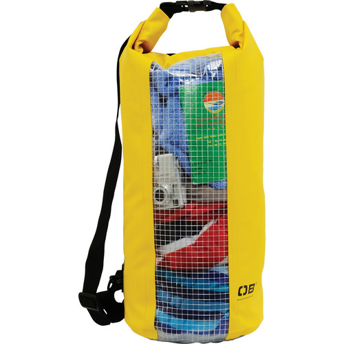 OverBoard Waterproof Dry Tube Bag with Window, 20 Liter (Yellow)