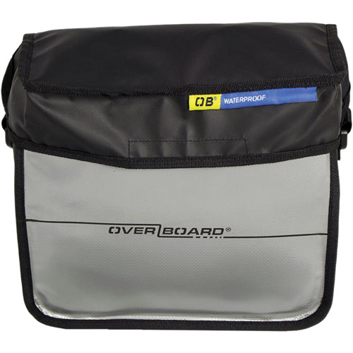OverBoard Waterproof Handlebar Bike Pannier 6 L (Black)