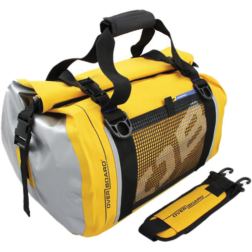 OverBoard Waterproof Duffel Bag 40 L (Yellow)