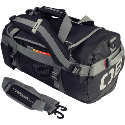 OverBoard Adventure Duffel Bag (Black, 35L)