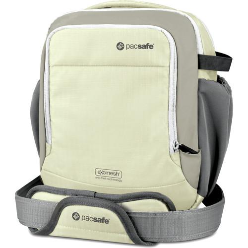 Pacsafe Camsafe Venture 8 Anti-Theft Shoulder Bag (Beach Gray)