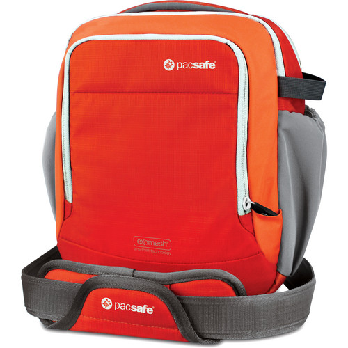 Pacsafe Camsafe Venture 8 Anti-Theft Shoulder Bag (Sunset Red)