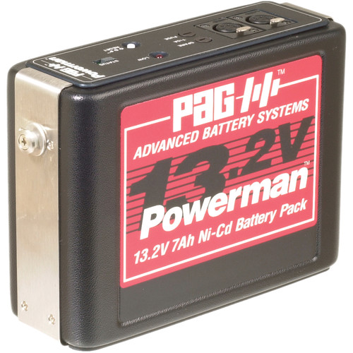 PAG Powerman 9338 Ni-Cad Battery Pack