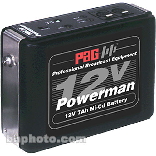 PAG Powerman 9339 Ni-Cad Battery Pack