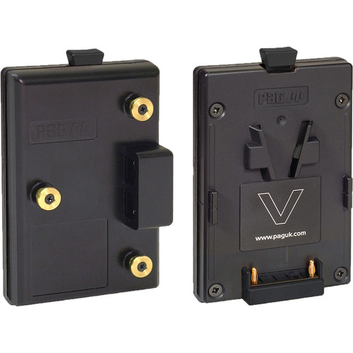PAG Gold Mount to V-Mount Adapter