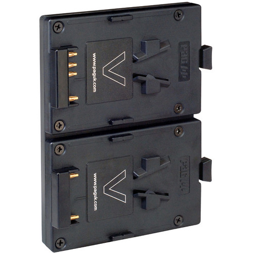 PAG 9552V Dual L-95V Battery Plate for 3-Stud AB