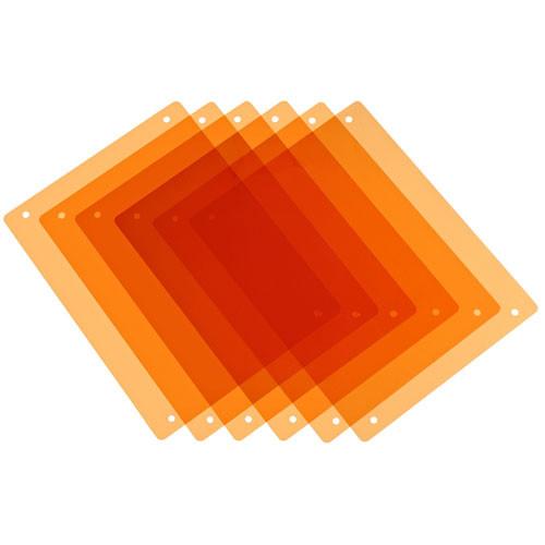 PAG 9981 Half CT Orange Filter Kit - 6 Filters, for Paglight Filter Holder