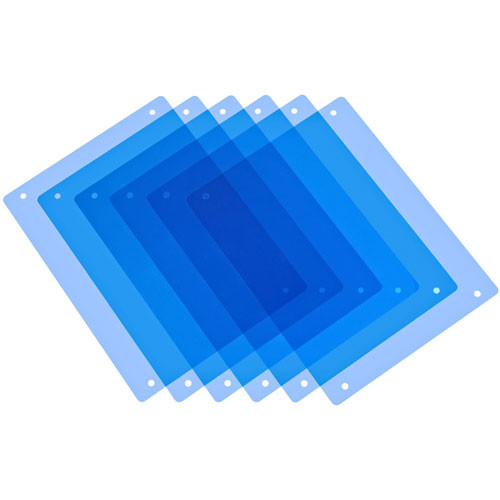 PAG 9982 Half CT Blue Filter Kit - 6 Filters, for Paglight Filter Holder