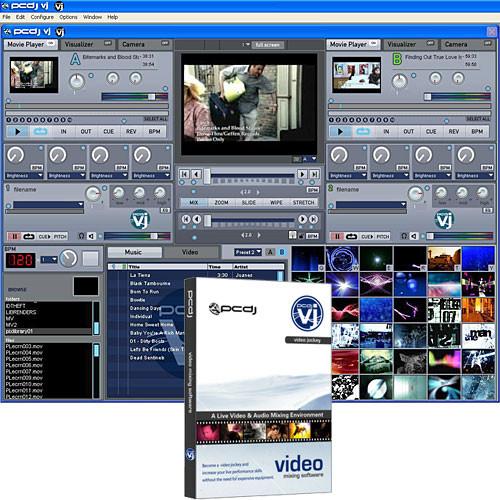 PCDJ VJ - Video and Audio DJ Mixing Software