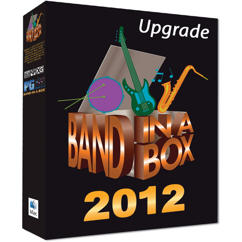 PG Music BAND-IN-BOX 2012 AUDIOPHILE-UPGRADE-MACHD