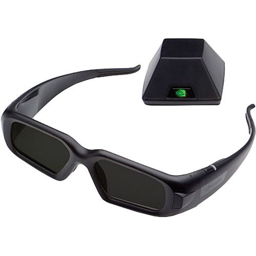 PNY Technologies 3D Vision Pro Glasses and 3D Vision Pro Hub (Emitter)