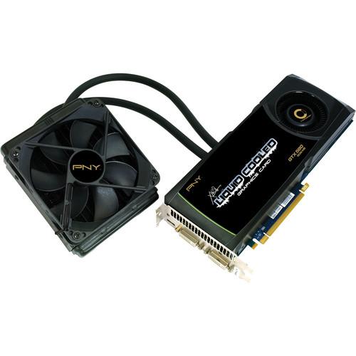 PNY Technologies nVIDIA GeForce GTX 580 1536 MB PCIe Liquid Cooled Display Card