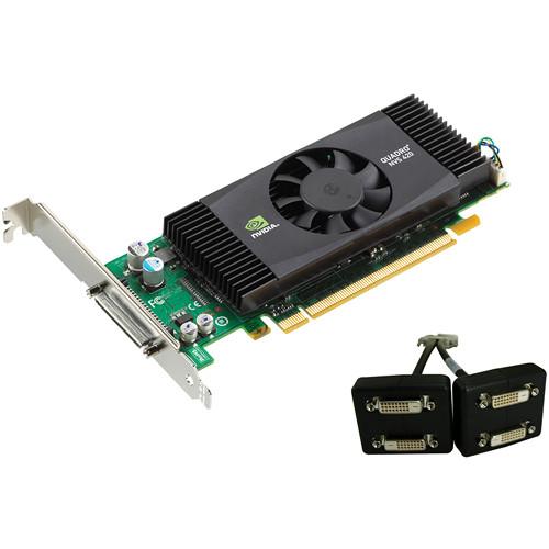 PNY Technologies nVIDIA Quadro NVS 420 x16 PCI Express Workstation Display Card