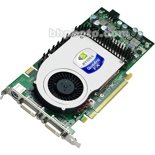 PNY Technologies NVIDIA Quadro FX 3450 x16 PCI-Express Workstation Display Card - 256MB GDDR3 VRAM, DVI-I + DVI-I + Stereo Outputs