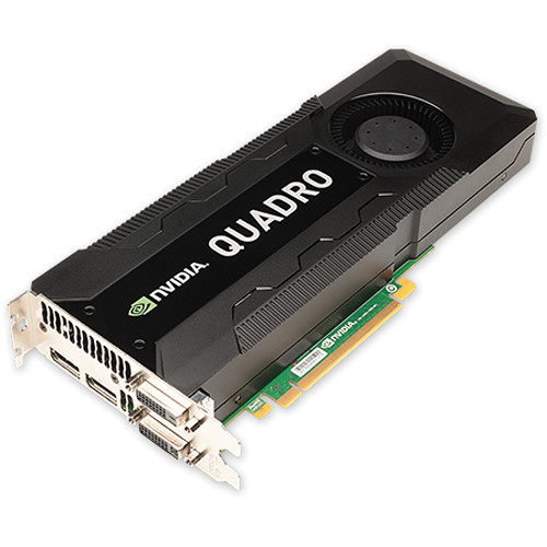 PNY Technologies NVIDIA Quadro K5000 4GB GDDR5 PCIe Graphics Card