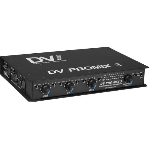 PSC DV PROMIX 3 Portable Audio Mixer