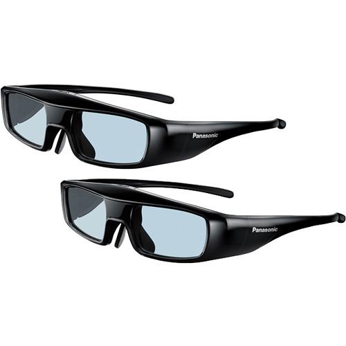 Panasonic 2-Pack of Active Shutter 3D Eyewear (Medium)