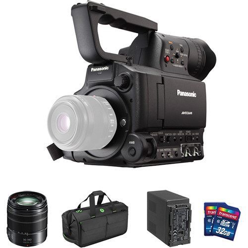Panasonic AG-AF100A Starter Kit with 14-140mm Lens