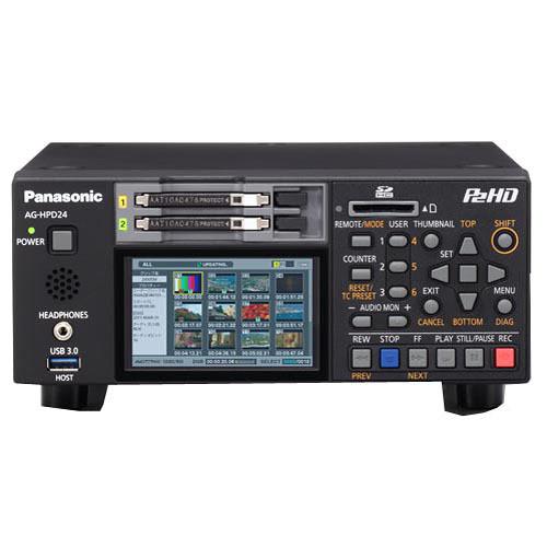 Panasonic AG-HPD24PJ Solid-State Portable P2 Deck