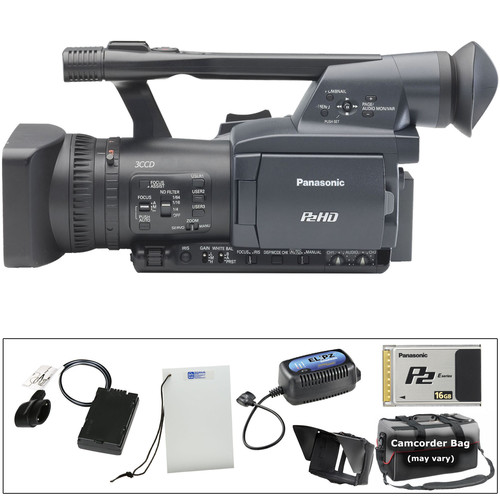 Panasonic AG-HPX170 P2HD Solid-State Camcorder Anton Bauer Kit