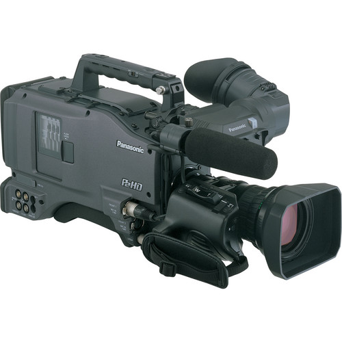 "Panasonic AG-HPX500E 2/3"" Shoulder Mounted P2 Camcorder"