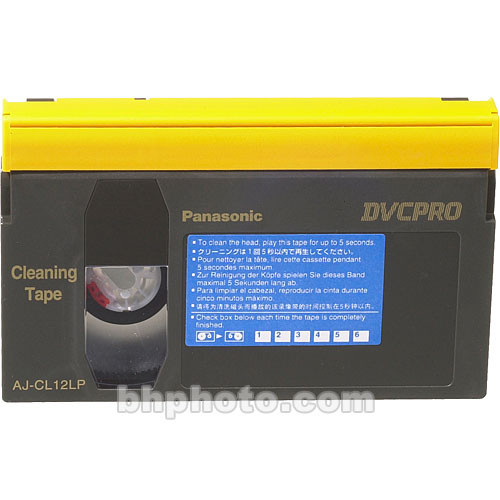 Panasonic AJ-CL12L Cleaning Cassette