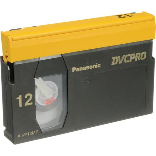Panasonic AJ-P12M DVCPRO Cassette (Medium)