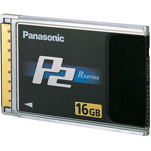 Panasonic AJ-P2C016RG 16GB P2 High Performance Card