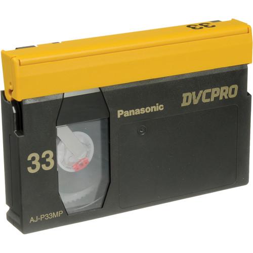 Panasonic AJ-P33M DVCPRO Cassette (Medium)