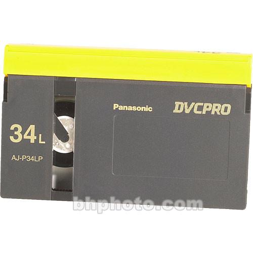 Panasonic AJ-P34L DVCPRO Cassette (Large)
