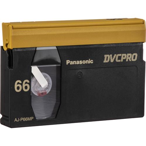 Panasonic AJ-P66M DVCPRO 66-Minute Video Cassette (Medium)