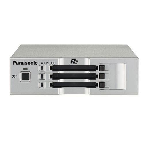 Panasonic AJ-PCD30PJ Three-Slot P2 Drive with USB 3.0 Interface
